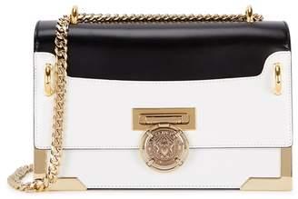 Balmain Monochrome Leather Shoulder Bag