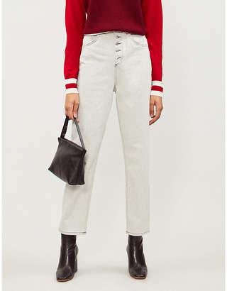 Claudie Pierlot Persan straight high-rise jeans
