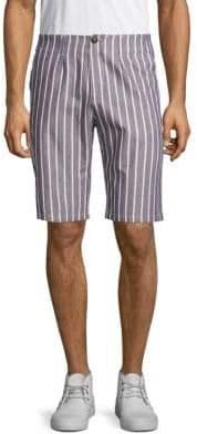Bermuda Striped Shorts