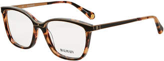 Balmain BL1064 Tortoiseshell-Look Square Optical Frames