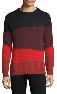 Paul Smith Mohair Colorblock Sweater