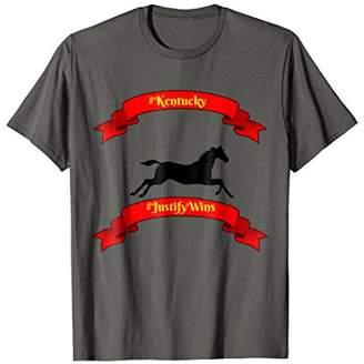 Justify Wins T Shirt