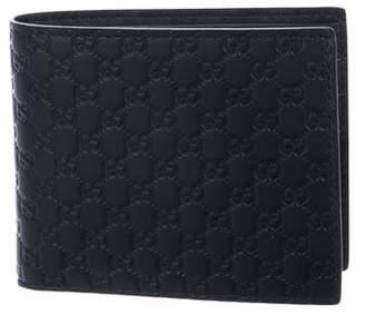 Gucci Micro Guccissima Bifold Wallet