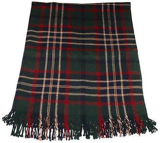 One Kings Lane Vintage Plaid Blanket - Luis Rodriquez