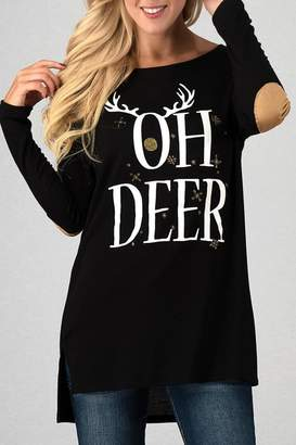 Oh Deer Trend:notes Top