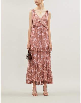 Diane von Furstenberg Misha floral-pattern silk maxi dress