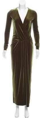 By Malene Birger Milda Velvet Maxi Dress
