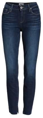 Paige Transcend Vintage - Verdugo Frayed Ankle Skinny Jeans