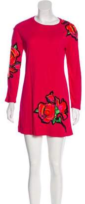 Louis Vuitton Roses Knit Dress