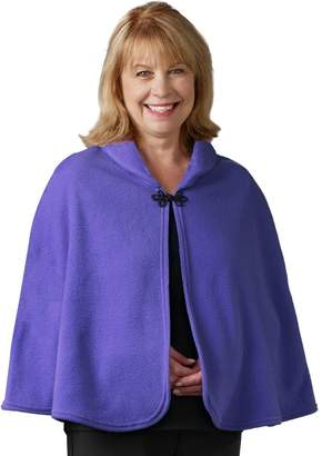 Silverts Disabled Adults & Elderly Needs Womens Warm Bed Jacket Cape Or Bed Shawl