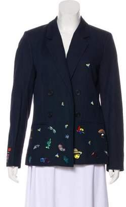 Mira Mikati 2016 Embroidered Blazer