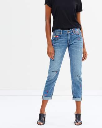 Maison Scotch Bandit Gaucho Scribble Jeans