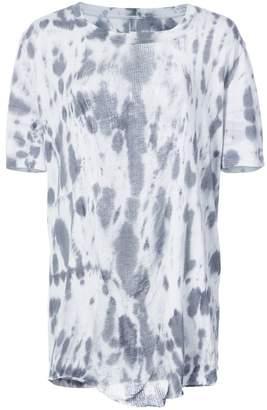 Raquel Allegra bleached effect baggy T-shirt