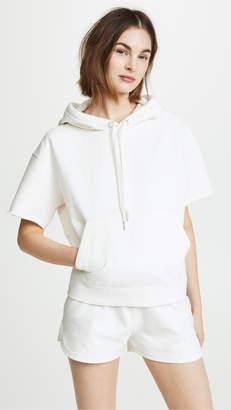Rag & Bone Short Sleeve Hoodie