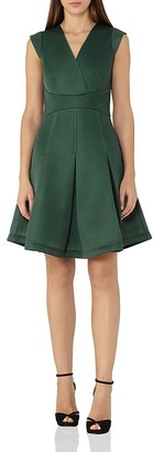 REISS Riviera Fit-and-Flare Dress $295 thestylecure.com