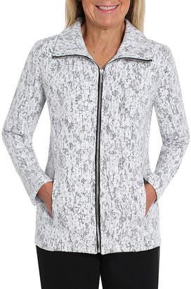 CATHY DANIELS Cathy Daniels Black And White Shirt Jacket