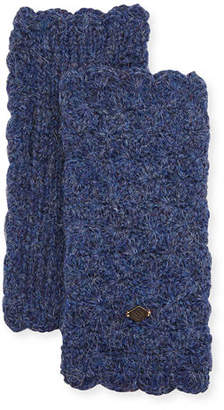 Emilime Star Crochet Fingerless Gloves