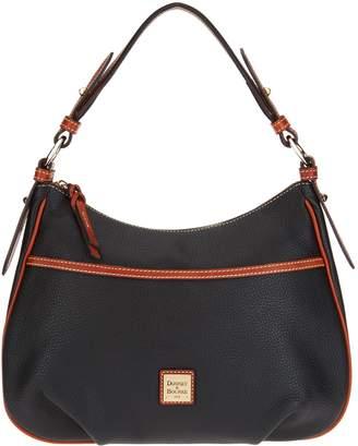 Dooney & Bourke Pebble Leather East/West Collins Shoulder Bag