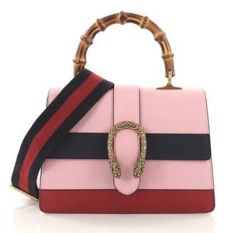 Gucci Dionysus Pink Leather Handbag