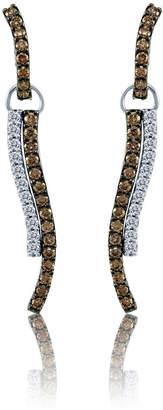 Le Vian Chocolatier LEVIAN CORP Grand Sample Sale by Chocolate & Vanilla Diamonds Earrings in 14k Vanilla Gold
