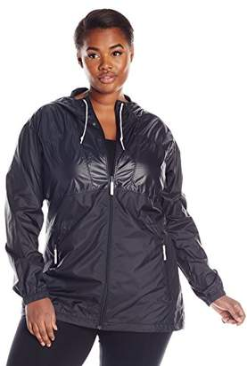 Columbia Women's Plus Size Flashback Long Windbreaker Jacket