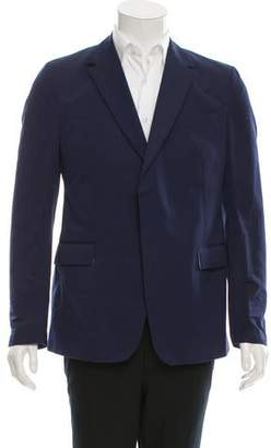 Valentino Woven Two-Button Blazer w/ Tags