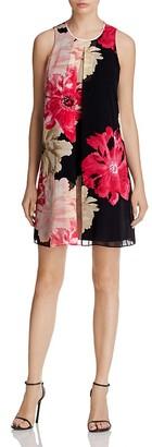 Calvin Klein Floral Print Dress $119.50 thestylecure.com