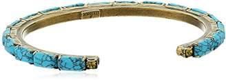 Sorrelli Botanical Brights Brilliant Baguette Cuff Bracelet