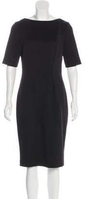 Lela Rose Sheath Midi Dress