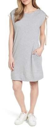 Caslon Tie Shoulder Shift Dress