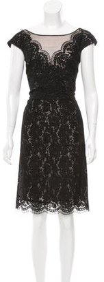 Vera Wang Lace Knee-Length Dress $195 thestylecure.com