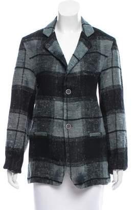 Avant Toi Plaid Notch-Lapel Jacket w/ Tags