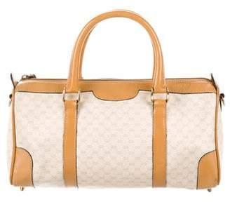Gucci Vintage Micro GG Boston Bag