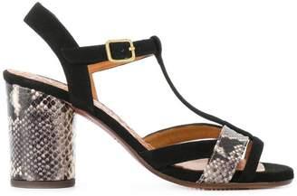 Chie Mihara colour block sandals
