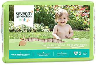Seventh Generation Diaper Stg2 12-18 LB s -Pack of 4