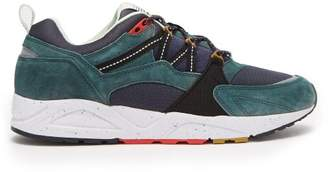 Karhu Fusion Low Top Suede Trainers - Mens - Green Multi