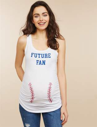 75a681b3085f6 Motherhood Maternity Future Fan Maternity Tank Top