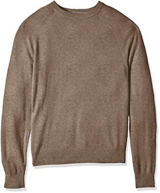 Buttoned Down Men's 100% Premium Cashmere Crewneck Sweater