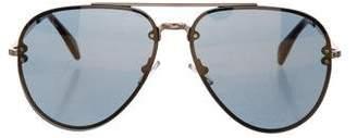 Celine Mirrored Aviator Sunglasses