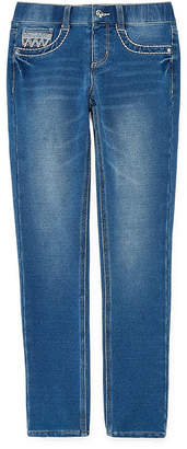 Arizona Jegging with Embellished Pockets - Girls' 4-16 & Plus
