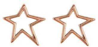 Rebecca Minkoff Open Star Studded Earrings