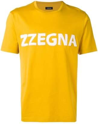 Ermenegildo Zegna printed logo T-shirt