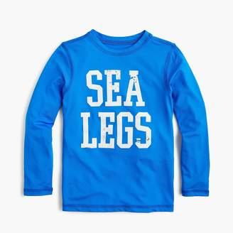 "J.Crew Boys' ""sea legs"" long-sleeve rash guard"