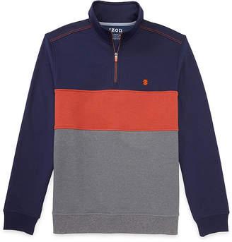 Izod Advantage Performance Stretch Fleece Quarter-Zip Pullover
