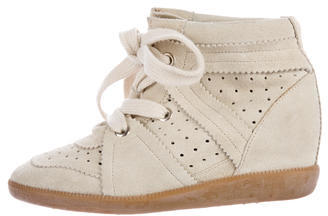 Isabel MarantIsabel Marant Stainer Basket Wedge Sneakers