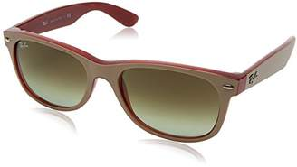 Ray-Ban Men's New Wayfarer Polarized Square Sunglasses