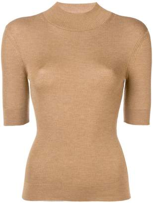 RED Valentino ribbed turtleneck jumper