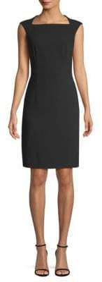 BOSS Dekala1 Keyhole Back Crepe Dress