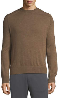 Vince Men's Wool Crewneck Ottoman Sweater