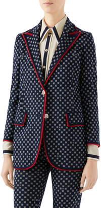 Gucci G-Frames Jersey Jacket